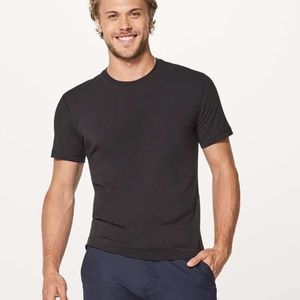NWT Lululemon 5 Year Basic Tee black t-shirt M